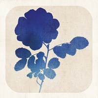 Batik Garden IV Framed Print