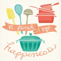 A Pinch of Happiness Fine Art Print