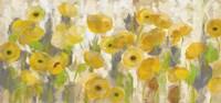Floating Yellow Flowers I Fine Art Print