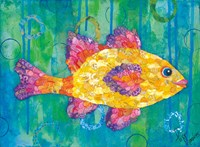 Yellow Fish Fine Art Print
