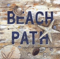 Beach Path Fine Art Print