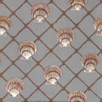 Scallop Shell Net Fine Art Print