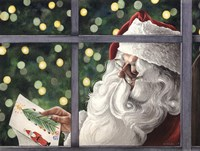 Letter To Santa Fine Art Print
