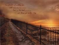 God's Gift Fine Art Print