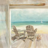 Seaside Morning Crop Fine Art Print