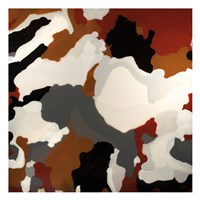 Brown Camo Fine Art Print