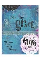 Grace And Faith Fine Art Print