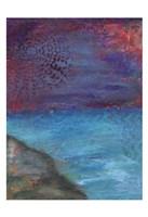 Blue Hue Coast Fine Art Print