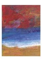 Fiery Coast Fine Art Print