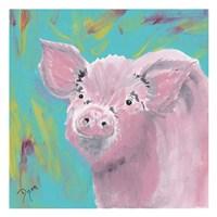 Farm Life Pig Fine Art Print