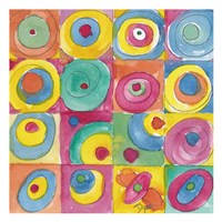Circles Bright Fine Art Print