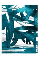 Blue Cynthia 2 Fine Art Print