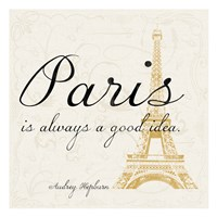 Paris Square 2 Framed Print