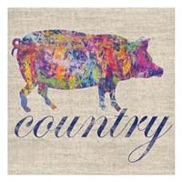 Pig Farm Fine Art Print
