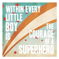 Superhero Power Fine Art Print