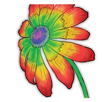 Bright Fun Time Flower Fine Art Print