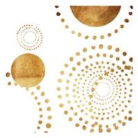 Golden Dots Fine Art Print