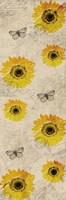 Vintage Sunflowers Fine Art Print