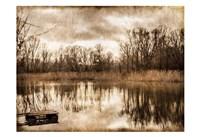 On the River 1 Framed Print