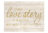 Love Story Fine Art Print