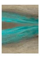Turquoise Stream 2 Fine Art Print