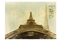 Below The Eiffel Tower Fine Art Print