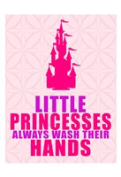 Little Princesses Hands Fine Art Print