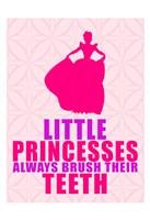 Little Princesses Framed Print