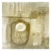 LaVie en Rose Framed Print