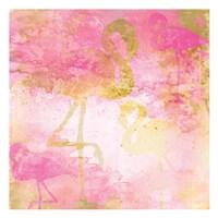 Flamingo Pink 1 Fine Art Print