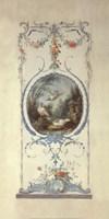 Panelled Detail of Doves Fine Art Print