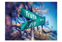 Truth and Love Fine Art Print