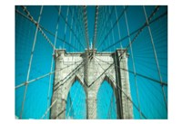 Brooklyn Aqua Fine Art Print