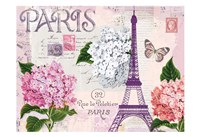 Paris in Lavendar Fine Art Print