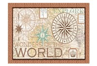 Wonders of the world Main ART Fine Art Print