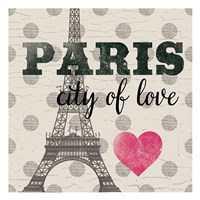 Paris In Love Fine Art Print