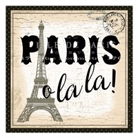Paris Ooh La la Fine Art Print