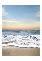 Sunrising Wave Curl Fine Art Print