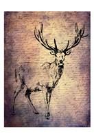 Vintage Lodge Fine Art Print