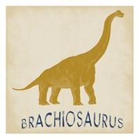 Brachiosaurus Dino Fine Art Print