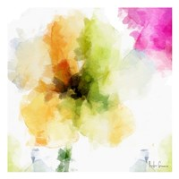 Watercolor Floral II Framed Print