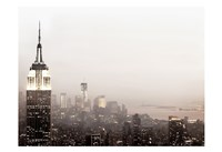 Pale Manhattan Fine Art Print