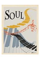 Soul Keys Framed Print
