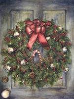 Holiday Wreath Fine Art Print