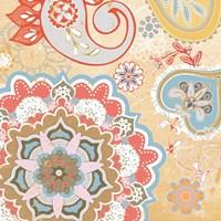 Paisley Faire V Fine Art Print
