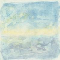 Murmured Landscape II Framed Print