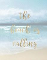 The Beach is Calling Fine Art Print