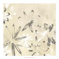 Vellum Flora II Framed Print