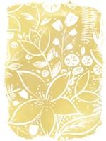 Garden Batik X Framed Print