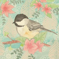 Chickadee Day II Fine Art Print
